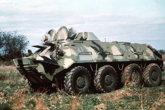 Báo Nga nói về việc hiện đại hóa thiết giáp BTR-60