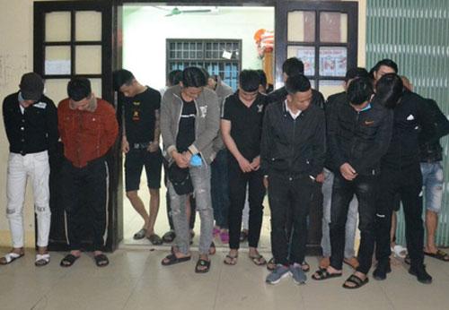 Quảng Trị: Đột kích nhà nghỉ, phát hiện 22 thanh niên dương tính với ma túy