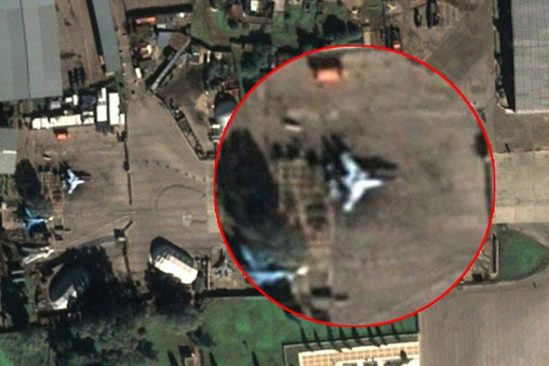 Sina: UAV Okhotnik của Nga lộ diện tại căn cứ không quân Khmeimim ở Syria?