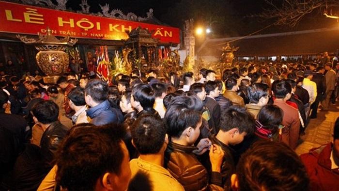 Nam Định: Dừng tổ chức Lễ hội Khai Ấn đền Trần và chợ Viềng dịp Xuân Tân Sửu 2021