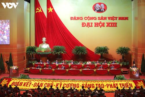 Thông cáo báo chí phiên khai mạc Đại hội đại biểu toàn quốc lần thứ XIII của Đảng