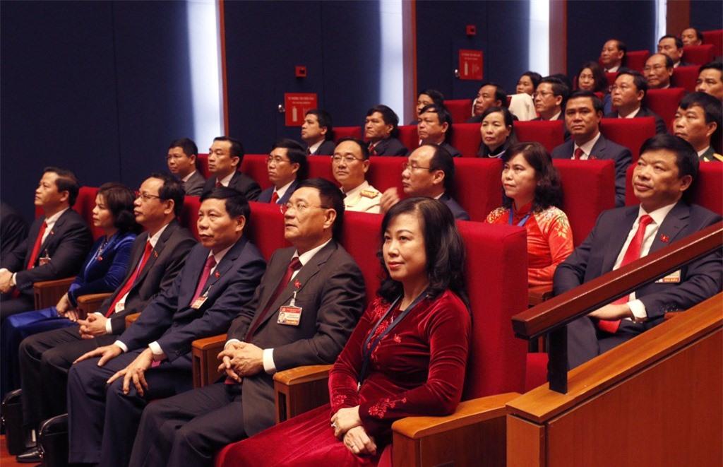 Đại biểu tham dự phiên khai mạc Đại hội