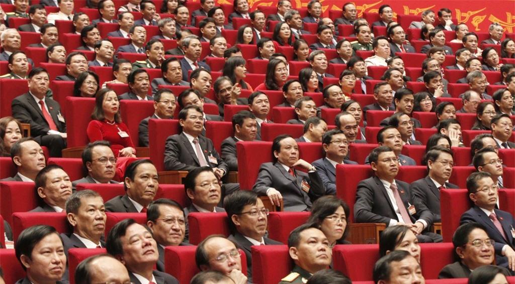 Các đại biểu dự phiên khai mạc Đại hội