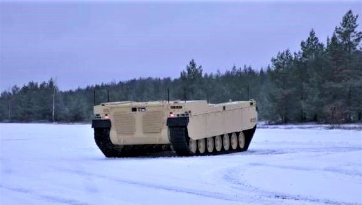 Milrem Robotics đang thử nghiệm phương tiện chiến đấu robot tầm trung đa năng Type-X mới; Nguồn: topwar.ru
