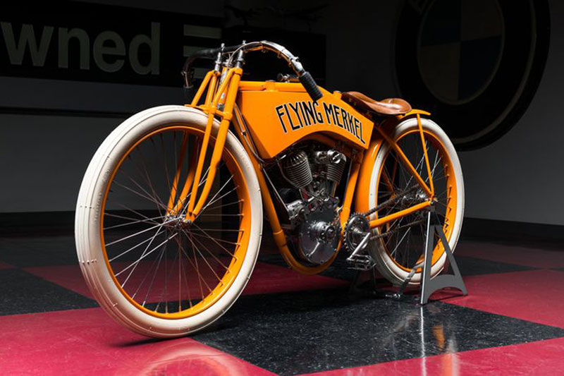 10. Flying Merkel Board Track Racer 1911 (giá: 423.500 USD).