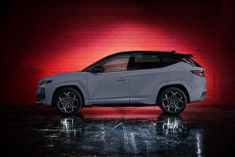 Hyundai Tucson N Line 2022 ra mắt với ngoại hình độc đáo, 5 tùy chọn động cơ