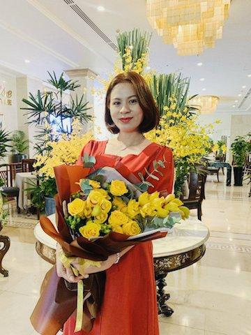Chủ tịch HĐQT Viva Star Coffee Lê Thị Ngọc Thuỷ.