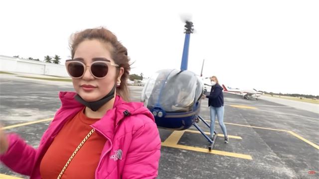 Danh hài Thúy Nga thuê máy bay riêng về Việt Nam, bay 15 phút không chịu nổi phải bỏ cuộc - Ảnh 4.
