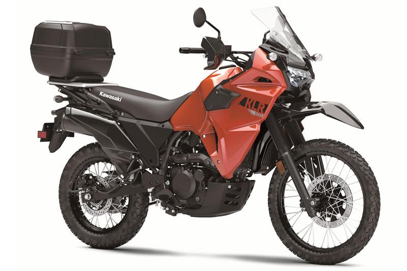 Kawasaki KLR 650 2021.