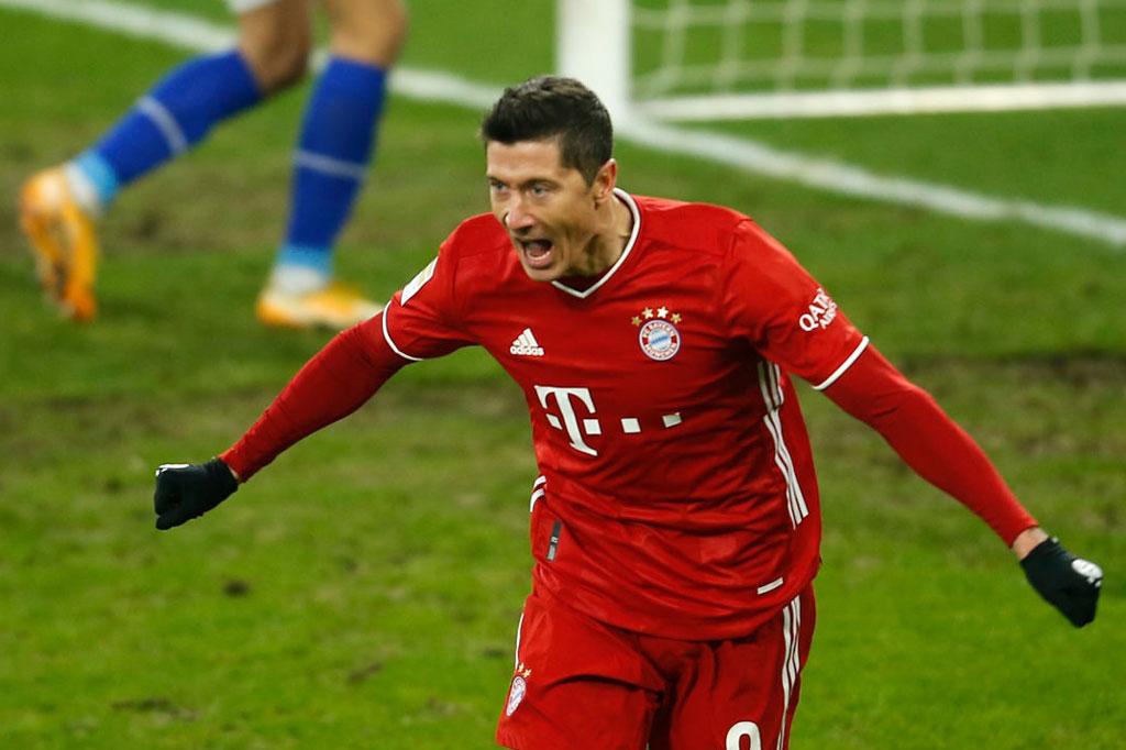 Tiền đạo: Robert Lewandowski (Borussia Dortmund, Bayern Munich).