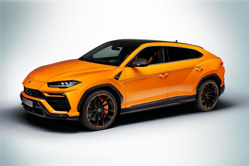 3. Lamborghini Urus.