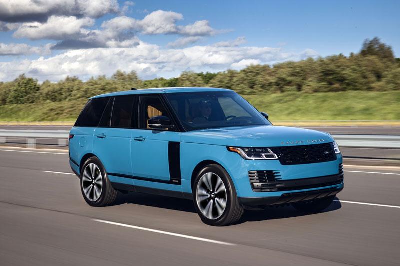 5. Land Rover Range Rover.