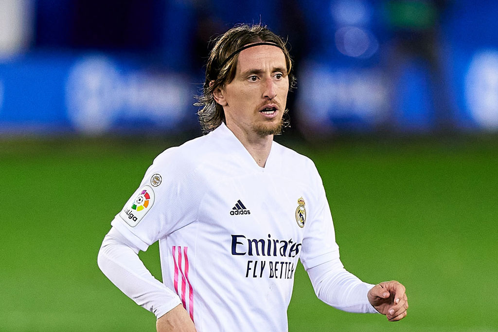 Tiền vệ: Luka Modric (Tottenham, Real Madrid).