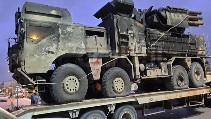 Mỹ thu giữ hệ thống tên lửa phòng không Pantsir-S1E của Nga cùng tài liệu kỹ thuật