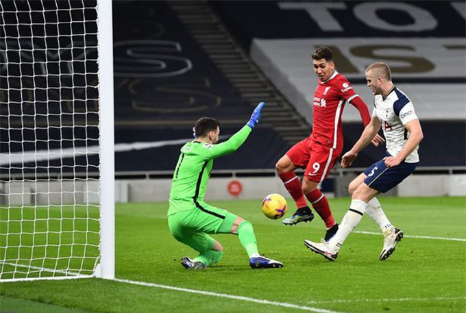 Firmino đã nổ súng trở lại ở trận Tottenham vs Liverpool