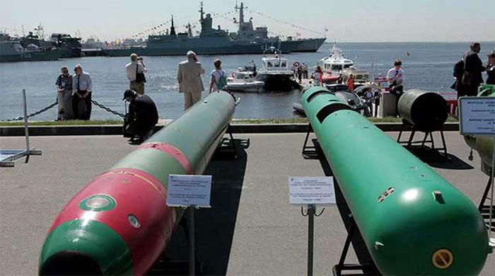 Nga hoàn thành thử nghiệm ngư lôi điện đầu tiên. Ảnh: RIA Novosti.