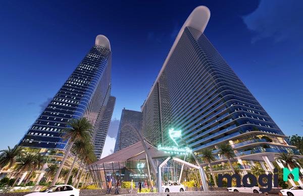 HoREA đề xuất cấp giấy chứng nhận cho condotel. (Trong ảnh: Phối cảnh dự án Condotel Sunshine Marina Bay do Tập đoàn Sunshine Group làm chủ đầu tư)