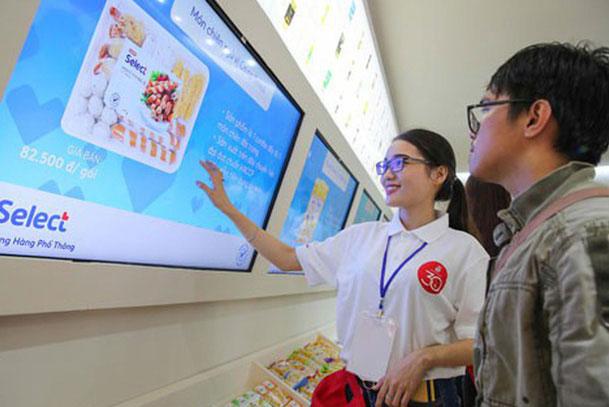 Công nghệ mua sắm thông minh sắp được một hệ thống bán lẻ đưa vào vận hành thực tế. (Ảnh: NLĐ)