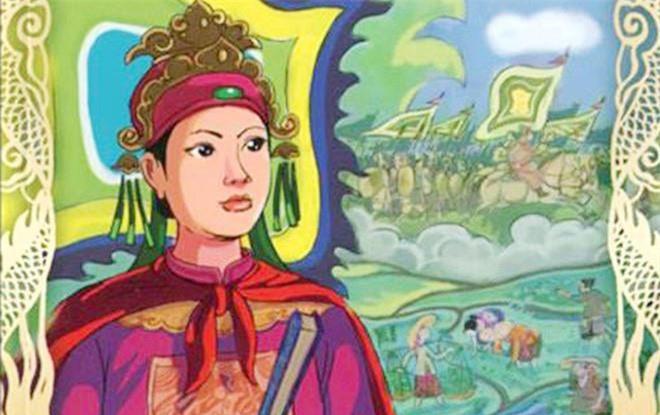 Nhung hoang hau, cong chua co so phan dac biet trong su Viet-Hinh-2