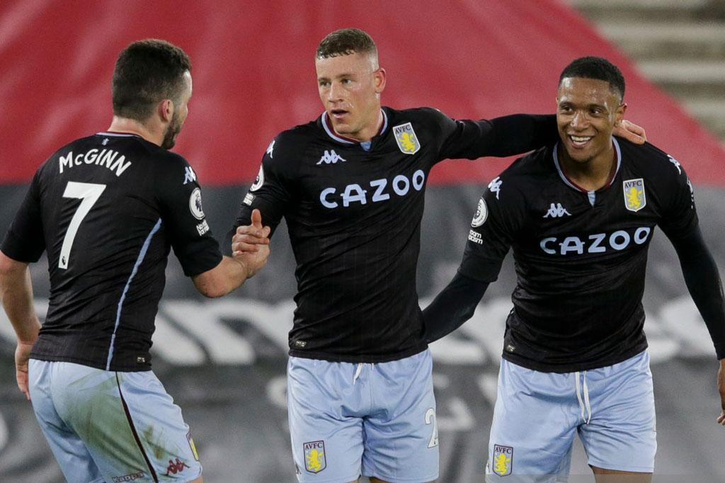 5. Aston Villa (290 lần).