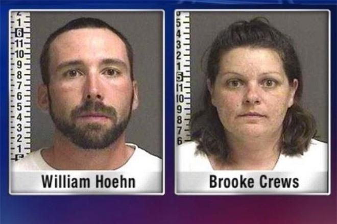 Cặp đôi Hoehn - Crews khi bị bắt