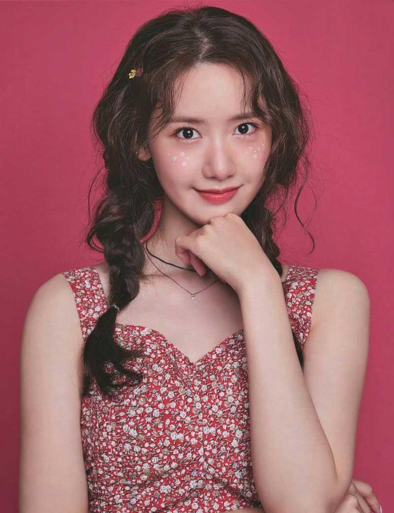 6. Yoona - 3.714 lượt bình chọn.