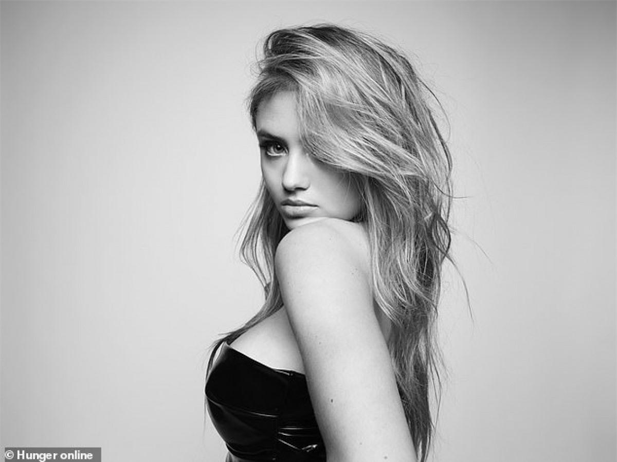 Leni Klum - con gái siêu mẫu Heidi Klum xinh đẹp và căng tràn sức sống trên tạp chí Hunger.