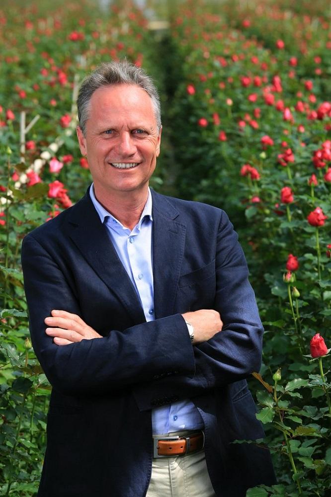 Ông Aad Gordijn, Tổng giám đốc Công ty TNHH Dalat Hasfarm.