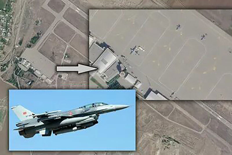 Các căn cứ không quân Thổ Nhĩ Kỳ ở Azerbaijan đều nằm trong bán kính hủy diệt của tên lửa Nga. Ảnh minh họa.
