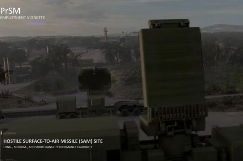 Mỹ tuyên bố phát triển tên lửa mới có khả năng tiêu diệt S-400 trực tiếp từ mặt đất. Ảnh cắt từ clip.