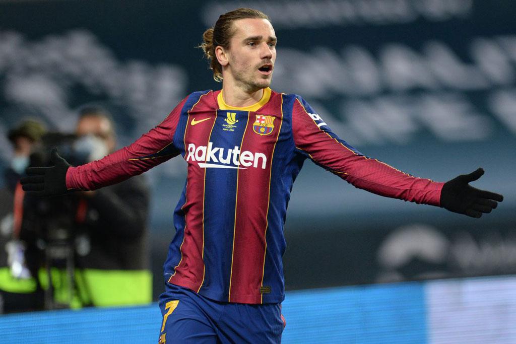 Tiền đạo: Antoine Griezmann (Barcelona).
