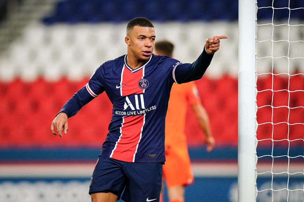 Tiền đạo: Kylian Mbappe (Paris Saint-Germain).