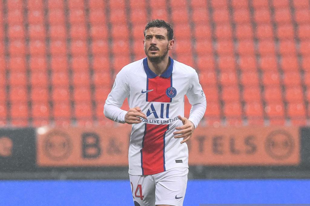 Hậu vệ phải: Alessandro Florenzi (Paris Saint-Germain).