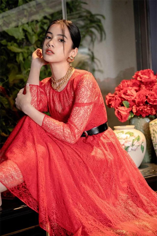 Cẩm Đan - thí sinh có gương mặt đẹp Hoa hậu Việt Nam 2020: Tuổi thơ khó khăn nên Tết cũng đơn giản - Ảnh 2.