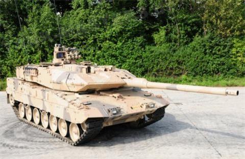 Leopard 2 se duoc trang bi to hop Trophy cua Israel