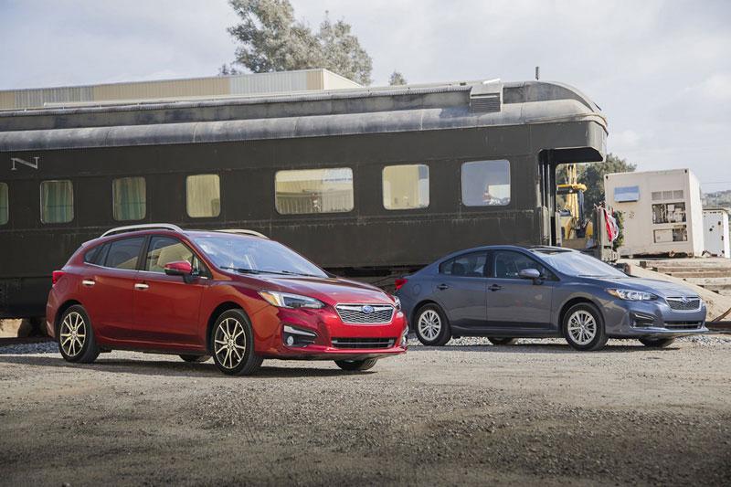 10. Subaru Impreza 2021 (điểm tổng thể: 7,4/10, giá khởi điểm: 18.795 USD).