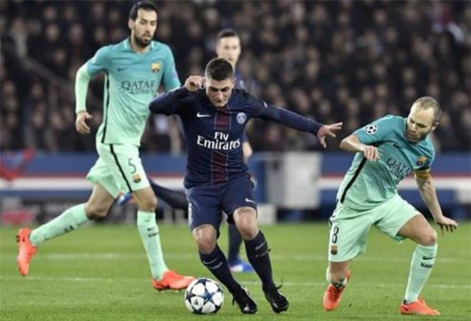 Veratti rất quan trọng trong lối chơi của Barca