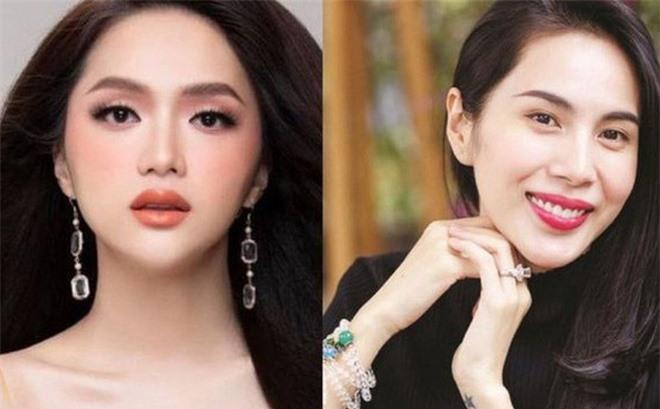Hương Giang (trái) và ca sĩ Thủy Tiên là hai trong số những nghệ sĩ chịu ảnh hưởng nặng nềtừ các nhóm anti-fan (Ảnh minh họa: internet).
