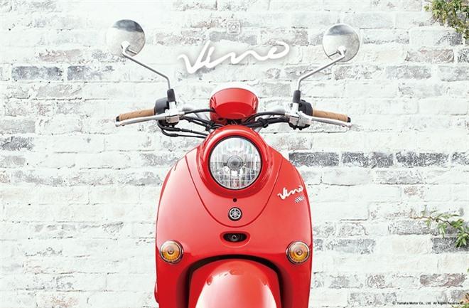Yamaha Vino 2021 duoc ra mat xe ga Yamaha dung dong co Honda anh 6