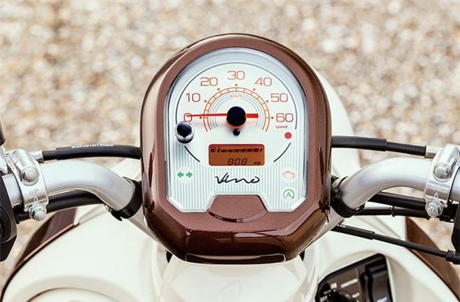 Yamaha Vino 2021 duoc ra mat xe ga Yamaha dung dong co Honda anh 7