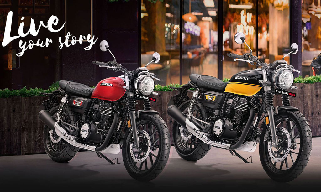 Honda CB350RS 2021.