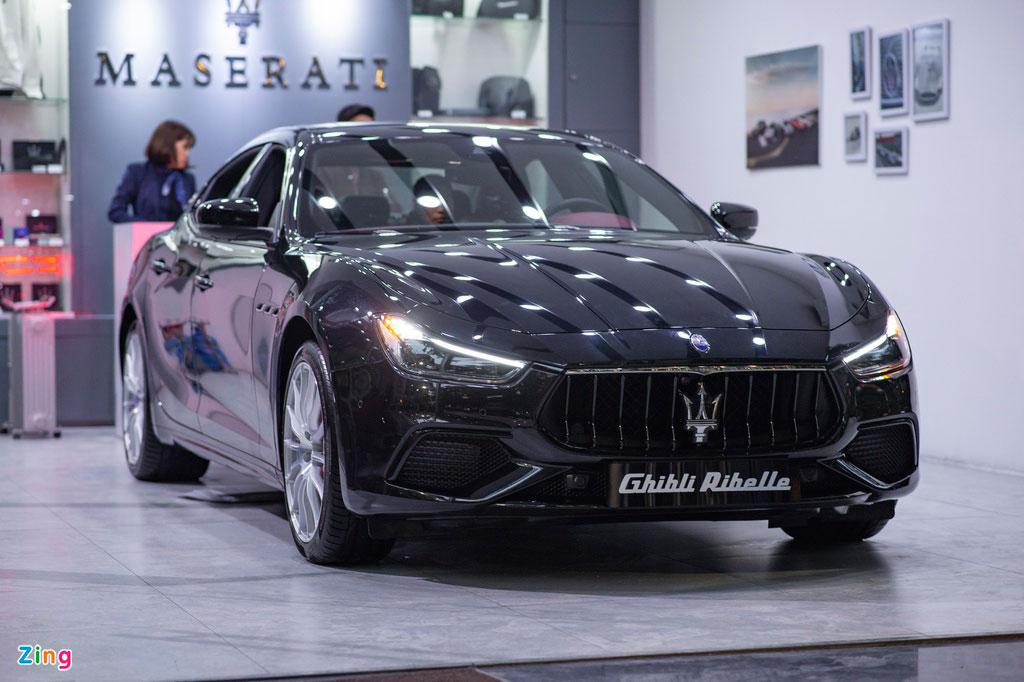 Maserati Ghibli Ribelle.