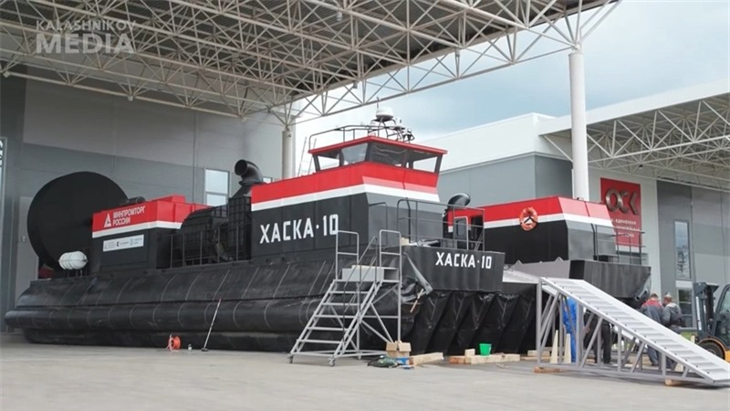 Ông Putin cho biết, Haska-10 xuất hiện ở Nga, nó có thể được sử dụng quanh năm, kể cả ở những vùng xa xôi: \