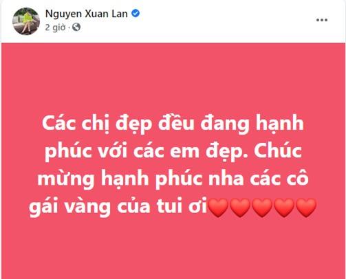 Lệ Quyên và dàn sao Việt chia sẻ cảm xúc khi Mỹ Tâm công khai hẹn hò Mai Tài Phến - Ảnh 2.