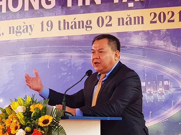 Ông Nguyễn Tâm Tiến, Tổng Giám đốc Trungnam Group kiến nghị TP Đà Nẵng sớm giao đất gian đoạn 2 cho Danang IT Park