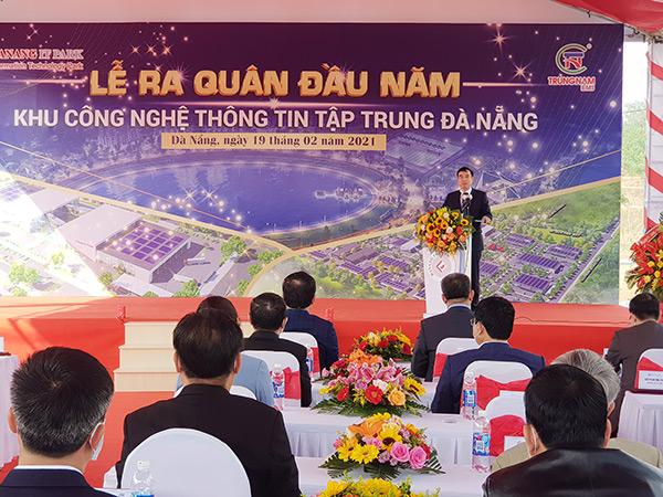 Chủ tịch UBND TP Đà Nẵng Lê Trung Chinh cho biết sẽ sớm họp, tháo gỡ vướng mắc trong việc giao đất giai đoạn 2 cho Danang IT Park