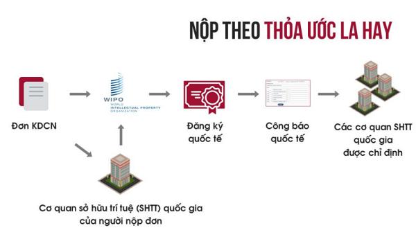 Quy trình nộp đơn đăng ký kiểu dáng công nghệ theo Thỏa ước La Hay được thực hiện năm 2020.