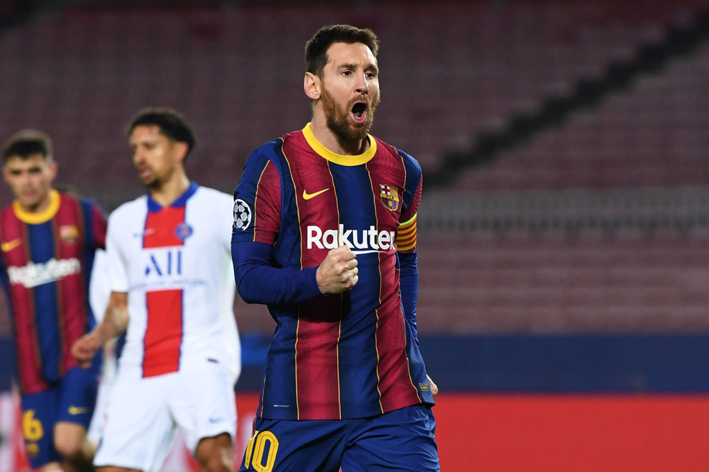 2. Lionel Messi (Barcelona/ ĐT Argentina).