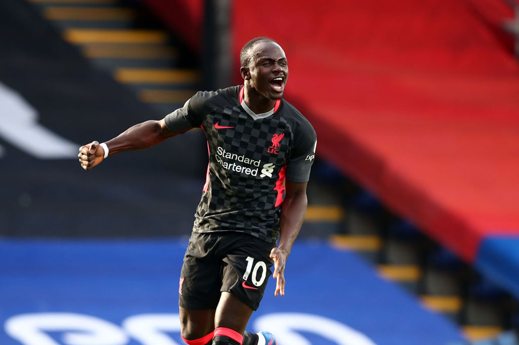 5. Sadio Mane (Liverpool/ ĐT Senegal).