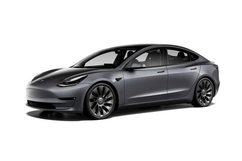 10. Tesla Model 3 Performance.
